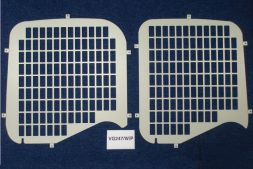 Fiat Scudo 2007 - 2016  Window Grilles with wiper cut out L1, L2H1 Twin Door Model